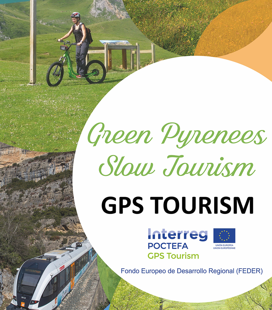 Poster Green Pyrinees Slow Tourism