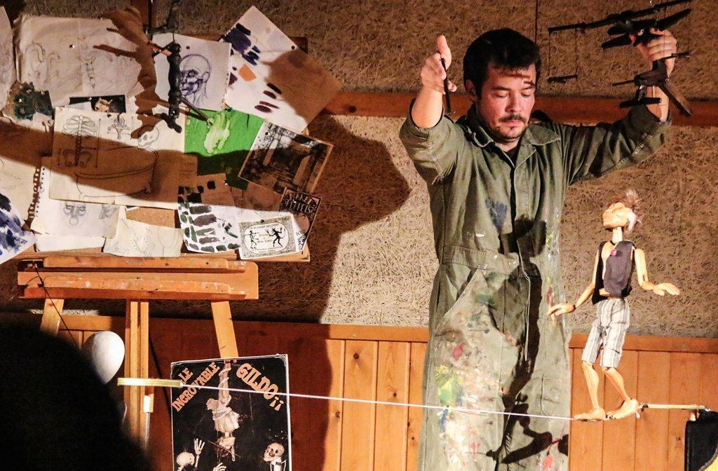 Imatge de l'edició anterior del Festival de Titelles de Guila de Cerdanya. Foto: Jordi Pardinilla.